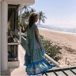 FREE PEOPLE Hanalei Bay Cottagecore Maxi Dress